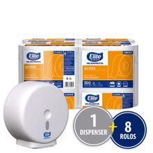 Papel-Higienico-Em-Rolo-Folha-Simples-Elite-Classic-Com-8-Rolos-De-300-M-Cada--Dispenser-333