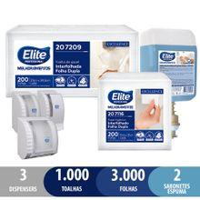 Kit-Banheiro--Papel-Toalha-E-Higienico-Excellence-Interfolhados---Blader-800-Ml-Sabonete-Em-Espuma-Com-Dispensers-465