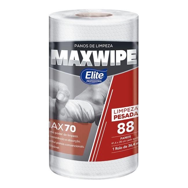 Pano De Limpeza Reutilizável Elite Maxwipe Max70 Em Rolo Com 88 Folhas